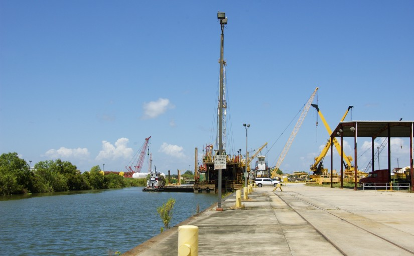 Port of West St. Mary – Dock Side